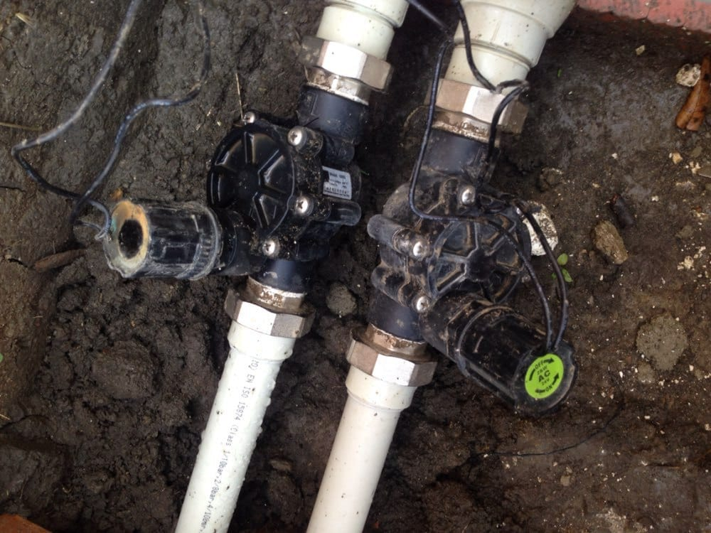 Accesing the water lines for your sprinkler system