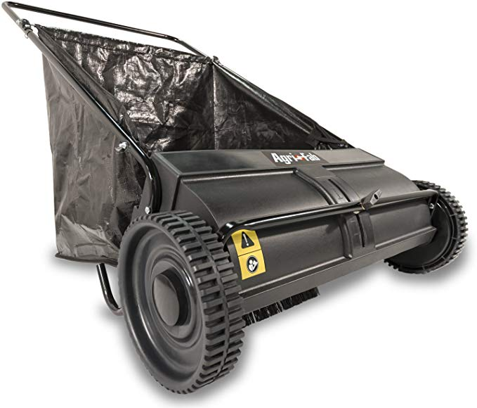 AGRI-FAB 26-INCH BLACK LAWN SWEEPER - One Of The Best Lawn Sweepers