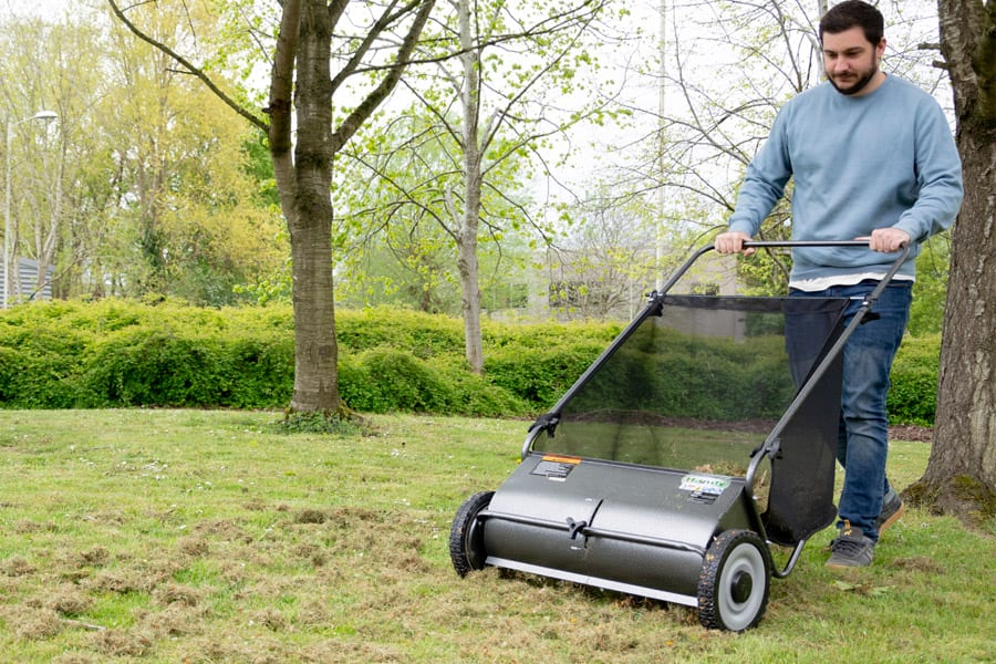 Best Lawn Sweeper: Both Push And Tow Behind