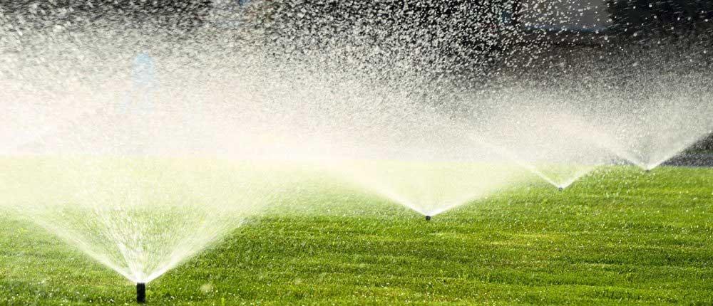 Modern Lawn Sprinkler System