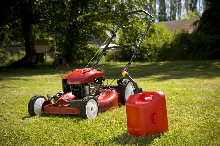 Petrol Powered Lawn Mower