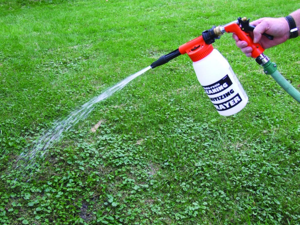 Using a Post-Emergent Herbicide