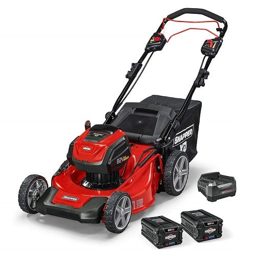 Snapper XD 82V MAX Electric Cordless 21-Inch Self-Propelled Lawnmower