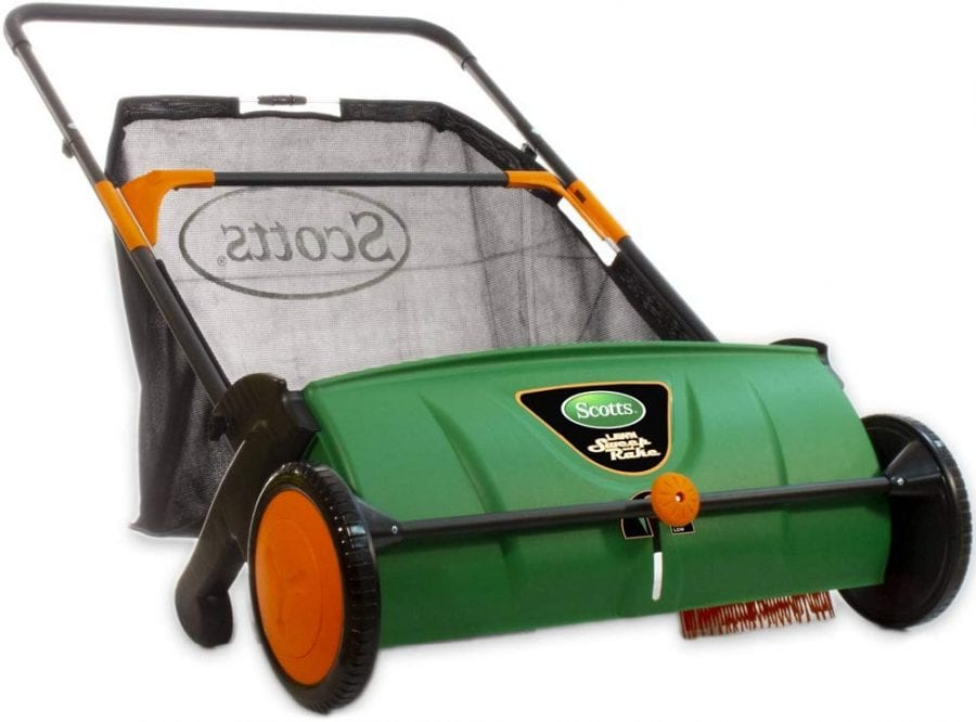 Scotts LSW70026S Push Lawn Sweeper Review
