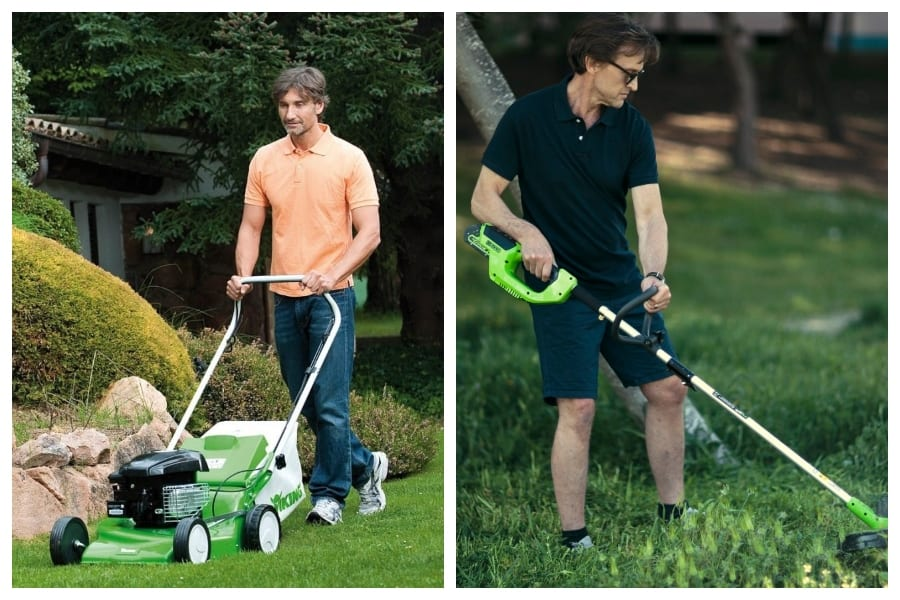 Lawn Mower Vs String Trimmer