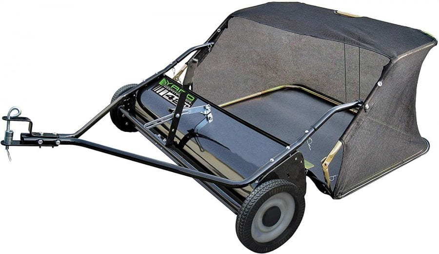 Yard Commander 42 Tow Behind Lawn Sweeper Review