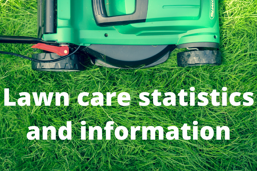 Lawn care statistics and information